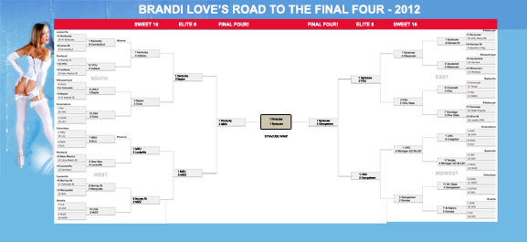 NCAA 2012 Final Four, Hot Wife