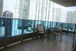 EPIC Hotel Miami, Balcony
