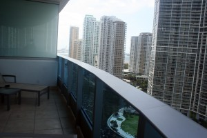 balcony 005 epic hotel miami 300x200 EPIC Hotel Miami Review